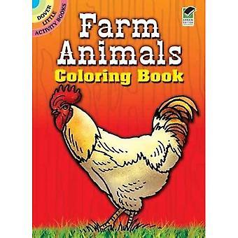 Bauernhof Tiere Col Bk (Dover wenig Activity Books)