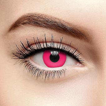 Red UV i-Glow Colored Contact Lenses (30 Day)