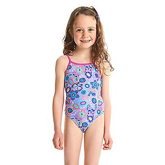 ZOGGS filles sauvages Yaroomba Floral maillot de bain - lilas/Multi