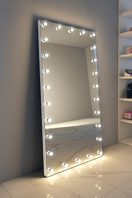 RGB Tall Grand Hollywood Makeup Mirror with LED k607CWrgb