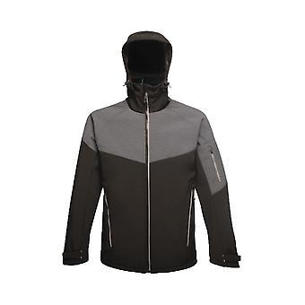 Regatta x-pro men's dropzone ii reflective 3 layer softshell jacket tra601