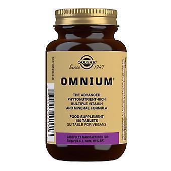 Tablety solgar Omnium 180 (2072)