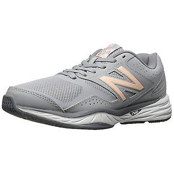 Nowe równowagi WX824 damskie skórzane niskie Top sznurowane uruchomiona Sneaker