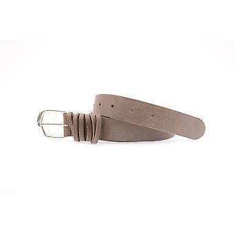 Cintura per bambini marrone duro con loop avvolto