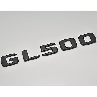 Matt Black GL500 Flat Mercedes Benz Car Model Rear Boot Number Letter Sticker Decal Badge Emblem For GLClass X164 X166 X167 AMG
