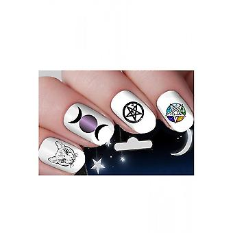 Attitude Clothing Moon Goddess Nail Decals