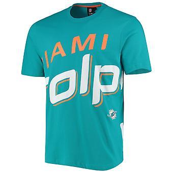 Майами Дельфины BIG GRAPHIC НФЛ Рубашка чирок