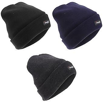 Barnens/ungar Thinsulate stickad Winter Ski hatt