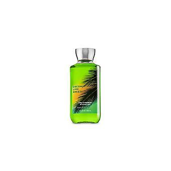 (2 Pack) Bath & Body Works Coconut Lime Breeze Shower Gel 10 fl oz / 295 ml