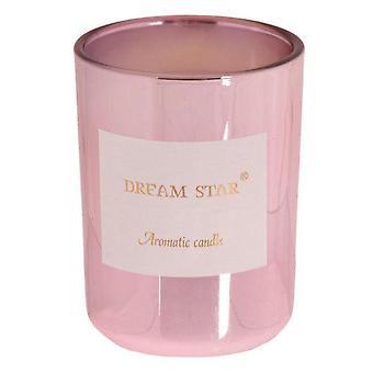 Duftkerze Rose pink 11 cm