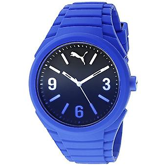 Cougar Time Gummy Fading wrist watch, analog, Unisex Silicone band, blue (Fading Blue)