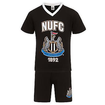 Newcastle United FC Regalo Oficial de Fútbol Hombres Short Pyjamas Loungewear