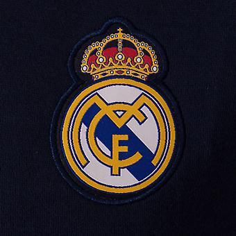ريال مدريد الرسمي لكرة القدم هدية الرجال ريترو Varsity سترة البيسبول