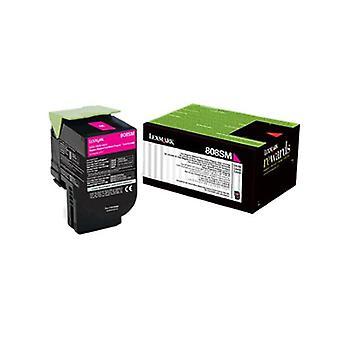 Lexmark 808Sme Magenta Standard Yield Toner Cartridge Corporate