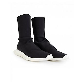 Rick Owens Drk Shdw Runner Stretch Sock Trainers