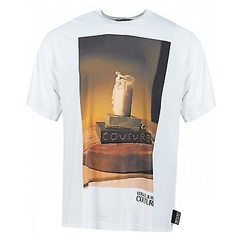 Versace Jeans Couture Candle Photo Print Oversize T-Shirt