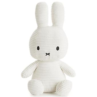 Miffy Large Bunny Corduroy Soft Toy, White
