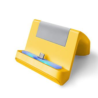 REYTID Charging Docking Station for Nintendo Switch Lite - Type C Charging Stand - Yellow