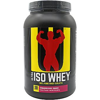 Universal Nutrition Ultra Iso Whey Supplement - 30 Servings - Strawberry