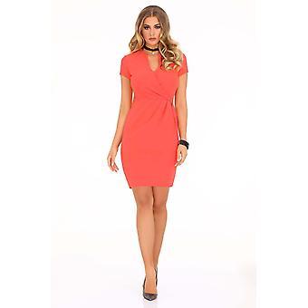 Korall klänningar