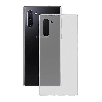 Couverture mobile Samsung Galaxy Note 10 KSIX Flex Transparent