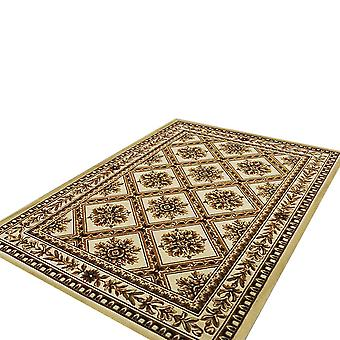 Non-slip water-absorbent extra large floor mat, rectangular rug for living room and bedroom decoration, traditional Chinese rug, easy to clean