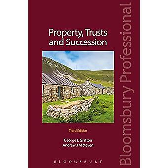 Property - Trusts and Succession by Andrew Steven - 9781526500564 Book