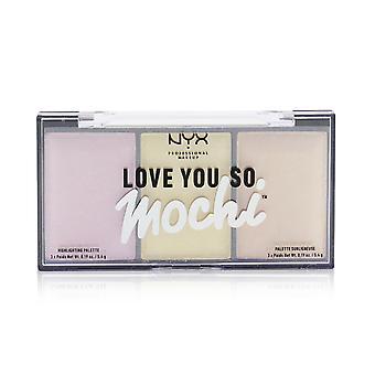 Love you so mochi highlighting palette # lit life 248241 3x5.4g/0.19oz