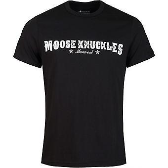 Moose Knuckles Western Script T-Shirt