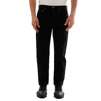 Valentino Sv0de00h5t90no Men's Black Cotton Jeans
