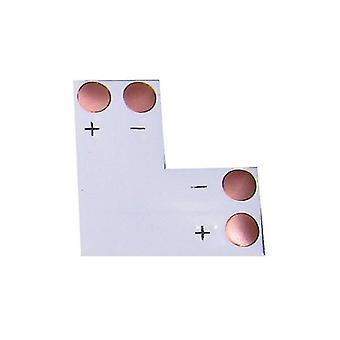 Jandei L-join pro konektor 8 mm led pás 2 kontakty Pack 10 ks