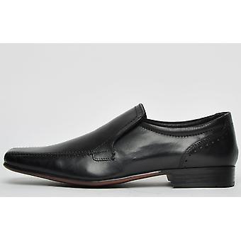 Ikon Classic Saxon Leather Black