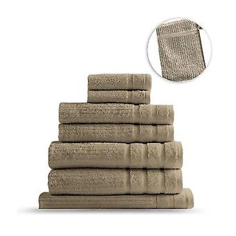 Royal Comfort Eden Mısır Cotton 8 Parça Lüks Banyo Havlusu Seti