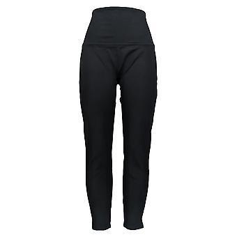 Spanx Leggings w/ Slim Fit & Shaping Ceinture Noire A278540