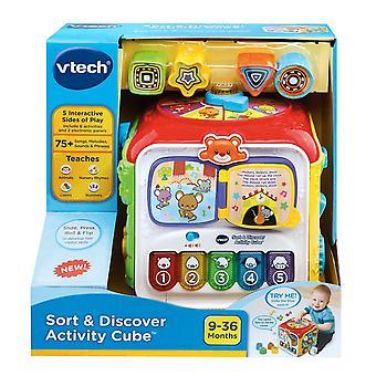 Cube vtech baby sort & découvrir l'activité