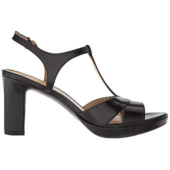 Naturalizer Womens Finn Leather Open Toe Special Occasion T-Strap Sandals
