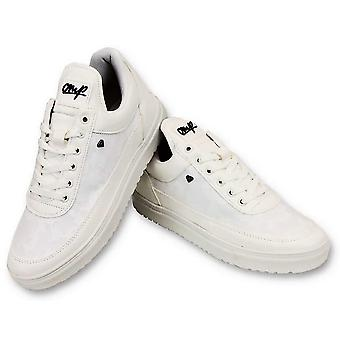 Shoes - Case Army Full White - CMS11 - White