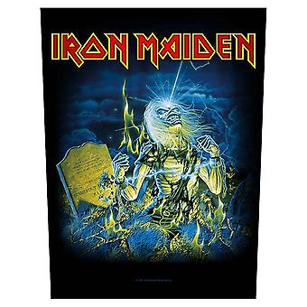 Iron Maiden Backpatch Live After Death Official Black Cotton Sew On 36cm x 29cm