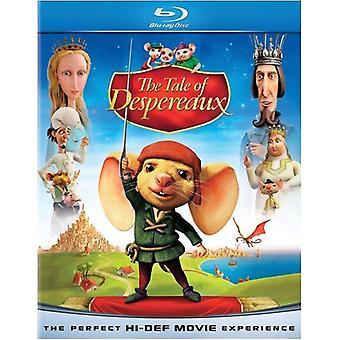 La légende de Despereaux [Blu-ray] [BLU-RAY] importation USA