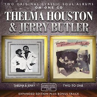 Thelma Houston & Jerry Butler - Thelma & Jerry / 2 til 1 [DVD] USA import