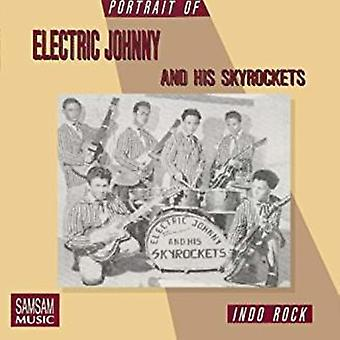Electric Johnny & Skyrockets & the Rollers - Portrait of [CD] USA import