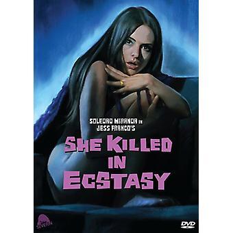 She Killed in Ecstasy [DVD] USA import
