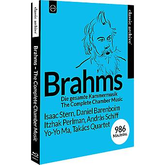 Brahms: Complete Chamber Music [Blu-ray] USA import