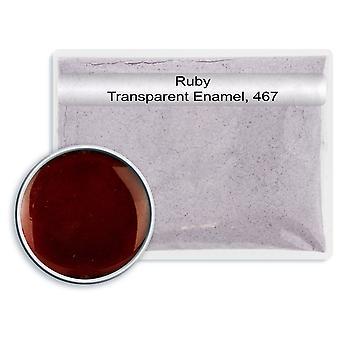 Rubi de esmalte transparente sem chumbo, 467, 25gm
