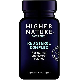 Higher Nature Red Sterol Complex Vegetable Capsules 30 (RED030)