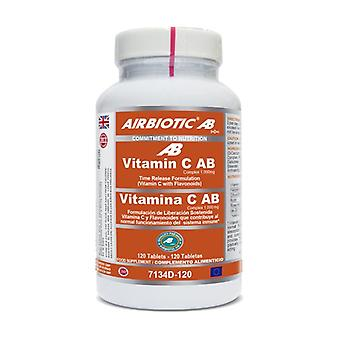 Vit C AB Complex (Time Release) 120 tablets of 1000mg