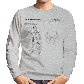 Bewundern Sie Black Panther Nakia Patent Herren Sweatshirt