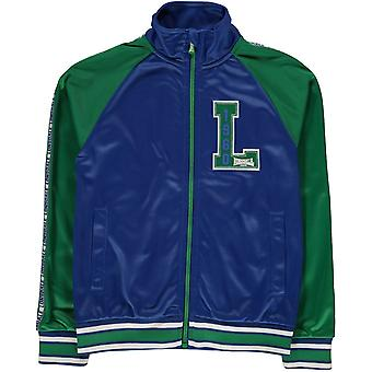 Lonsdale Track Funnel Neck Jacket Junior Boys