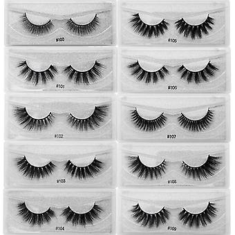 False Eyelashes Natural Mink Lashes In Bulk