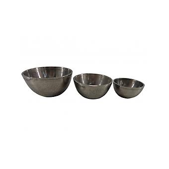 Deco4yourhome Bowls S/3 Old Metal